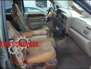 Driver Front Seat Bucket 40 40 Captains Fits 2001 2004 Ford F250sd Pickup 123622
