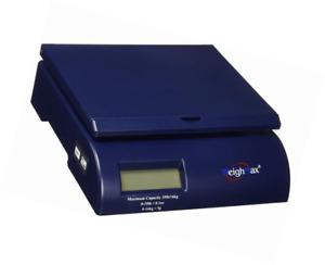 Weighmax Shipping Postal Scale Blue w 2822 35 blue