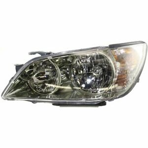 Headlight For 2001 2005 Lexus Is300 Left With Bulb Clear Lens Hid Composite Type