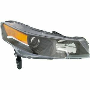 Headlight For 2012 2014 Acura Tl Right Lens And Housing Hid Capa