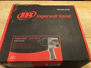 Ingersoll Rand 261 Impact Wrench 3 4 Drive new