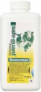 1000ml Safe Guard Dewormer Suspension For Beef Dairy Cattle Goats Wormer Health
