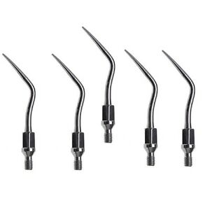 5x Dental Ultrasonic Scaling Scaler Tips Fit Kavo Sonicflex Handpiece Gk4 Tip