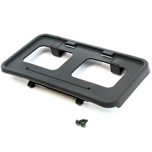 2011 16 Fits Ford Superduty F250 Front License Plate Tag Bracket Holder W Screws