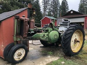 1950 John Deere Jd 4 Antique Farm Tractor