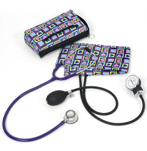Sphygmomanometer stethoscope Clinical Lite Kit four Square Hearts A121