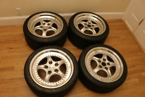 Kinesis Supercup Porsche Wheels 911 928 930 944 18x8 10 Staggered Early Offset