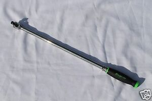 Snap On 1 2 Breaker Bar Green Soft Grip Handle 24 In Long Shbb24 Brand New
