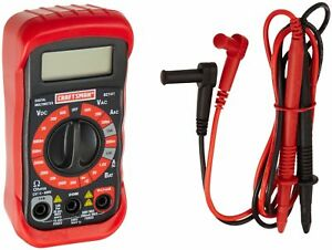 Craftsman 34 82141 Digital Multimeter With 8 Functions And 20 Ranges