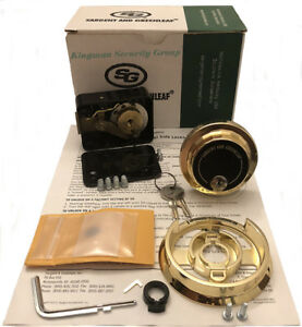 S g Sargent Greenleaf 6730 112g Group 2 Spy Proof Kld Lock Kit w 2 Keys