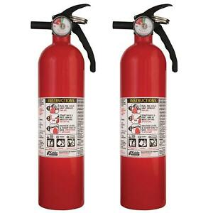 Kidde 2 5 Lb Abc Fire Extinguisher Home Car Dry Chemical Electrical Kitchen Auto