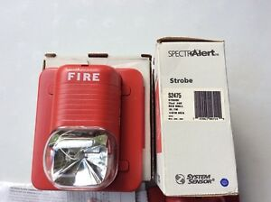 Lot Of 3 Units System Sensor Spectralert S2475 Strobe