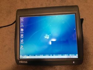 Micros Pos Terminal Ws 5a Res 3700 9700 Windows 7 Embedded Reconditioned