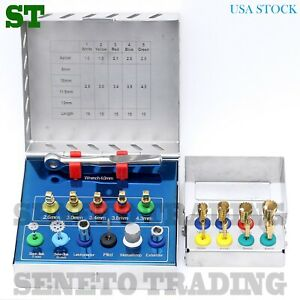 Dental Implant Bone Expander Compression Sinus Lift Surgical Kit Free Trephines