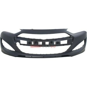 New Front Bumper Cover Primed Fits 2013 2016 Hyundai Genesis Coupe 865112m300