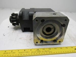 Servo Planetary Right Angle Gearhead Speed Reducer 8 1 Ratio
