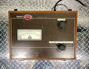 Biddle Megger Sl Models Series 1 Insulation Tester 218640 Hand Crank Tested