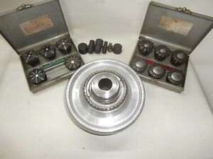 Jacobs Rubber Flex Collet Chuck Full Set Of Collets D1 6 Mount