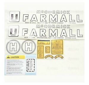 Sparex S 70712 Decal Kit Farmall H