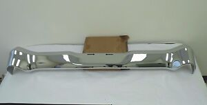 1956 Chevy Stw Smoothie Rear Bumper triple Plated Original