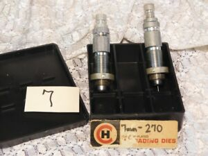 Reloading Dies New Old Stock  CH 7mm270 2 die set CH box #7