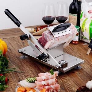 Beef Mutton Roll Slicer Food Cutter Sheet Cleavers Manual Meat Cutting Machine Y