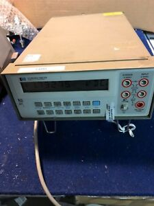 Hp 3478a Digital Multimeter Used And Tested Self Test Good