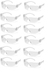 Safety Glasses Clear Lens Eyewear Work Ansi Z87 Compliant 300 Pack