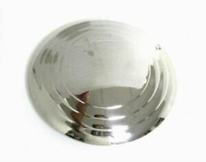 Ford Smooth Stainless Steel Hubcap For 16 17 18 Wire Wheel 1932 1935