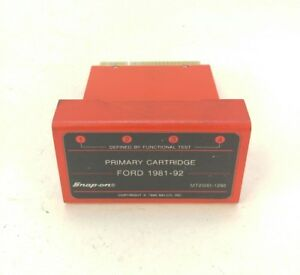Snap On Mt2500 1292 Primary Cartridge Ford 1981 92 Diagnostics Scanner Guarantee