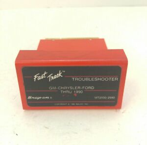Snap On Mt2500 Scanner Gm Chrysler Ford Troubleshooter Cartridge Mt25002990 Used