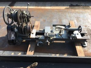 Vintage Atlas Craftsman Lathe 1930 s First Model Made By Atlas Change Gears