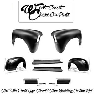 1947 1953 Chevy Truck Front Fenders Rear Fenders Running Boards W aprons