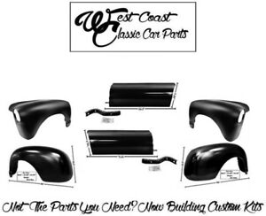 1947 1953 Chevy Front Fenders Rear Fenders Bed Aprons Kit