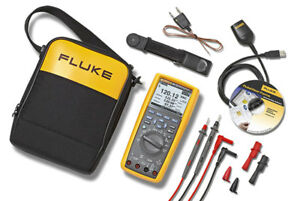 Fluke 289 fvf True Rms Industrial Multimeter Flukeview Forms Combo Kit