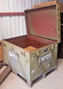 Industrial Sealed Metal Storage Container