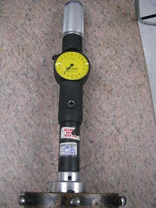 Standard Dial Bore Gage 4 Extentions size 6 range 153 250mm X 002mm item Sce