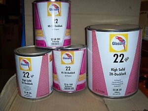 Glasurit 22 Line 22 a160 1 Litre Hs Solid Colour Tinter Basf Mixing Tinter