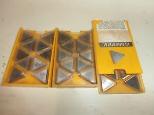 Kennametal Tpg433 Carbide Insert 25 Pieces Free Usa Shipping