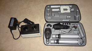 Heine Ophthalmoscope And Retinoscope Set With Charger