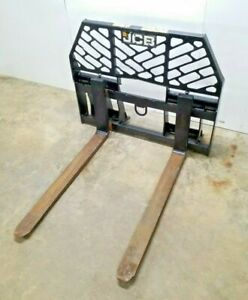 2014 Jcb Pf42 Pallet Forks 42 332 l3341 Max Cap 5500 Lbs Skid Steer Attachment