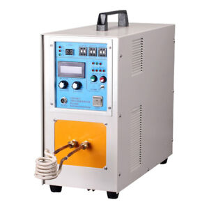 15kw 1500 High Frequency Induction Heating Melting Furnace Machine Welding