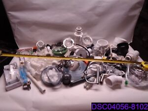 Qty 73 Parts And Fittings For Plumbing Brass Pvc Large Variety Pipe