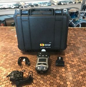 Rae Systems Qrae 3 Pumped Gas Monitor With Pelican 1400 Foam Case