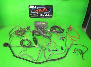 99 02 Chevy Silverado Gmc Sierra Fisher Minute Mount 3 Plug Module And Harnesses