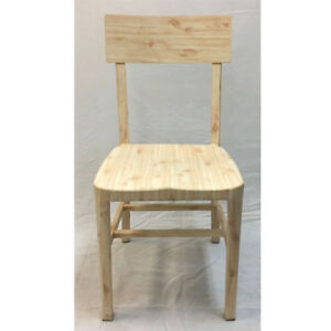 Aluminum Dining Chair Wood Look