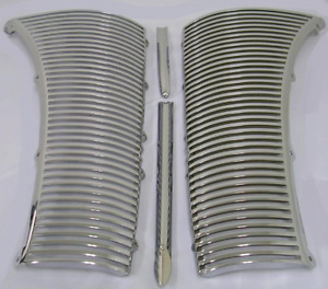 Ford Deluxe Car Grille Assembly 1940 Triple Chrome Plated Made In Usa