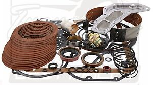 Ford C6 Raybestos Red Stage 1 Performance Transmission Rebuild Filter Band Etc