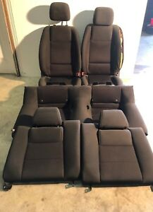 2011 2014 Ford Mustang Gt Full Set Oem Fronts Backs Cloth Coupe