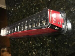 3 8 Drive Shallow Snap On Metric 12 Point Chrome Socket Set
